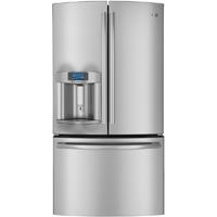 G.E. Profile PYE22PSHSS 22.1 Cu. Ft. Stainless Counter-Depth French Door Refrigerator - PYE22PSHSS - IN STOCK