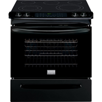 Frigidaire Gallery FGES3065PB 4.6 Cu. Ft. Black 5 Burner Slide-in Range - FGES3065PB - IN STOCK