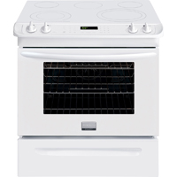 Frigidaire Gallery FGES3065PW 4.6 Cu. Ft. Black 5 Burner Slide-in Range - FGES3065PW - IN STOCK