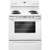 Frigidaire FFEF3015PW 5.3 Cu. Ft. White Freestanding Coil Range - FFEF3015PW - IN STOCK