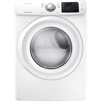 Samsung DV42H5000EW Gas 7.5 Cu. Ft. White Front Load Dryer - DV42H5000GW - IN STOCK