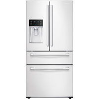 Samsung RF28HMEDBWW 28.15 Cu. Ft. White 4-Door French Door Refrigerator - RF28HMEDBWW - IN STOCK