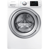 Samsung WF42H5200AW 4.2 Cu. Ft. White Front Load Steam Washer - WF42H5200AW - IN STOCK