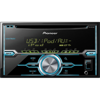 Pioneer 2-DIN CD Receiver w/ USB, Pandora, Android Music, & Customization - FH-X520UI / FHX520 - IN STOCK