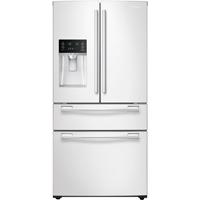 Samsung RF25HMEDBWW 25 Cu. Ft. White 4-Door French Door Refrigerator - RF25HMEDBWW - IN STOCK