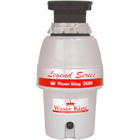 Waste King Legend L-2600 EZ-Mount Disposer - L-2600 - IN STOCK