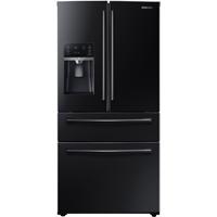 Samsung RF28HMEDBBC 28.15 Cu. Ft. Black 4-Door French Door Refrigerator - RF28HMEDBBC - IN STOCK