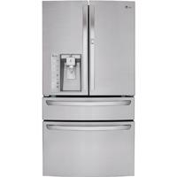 LG LMXS30776S 29.7 Cu. Ft. Stainless 4 Door French Door-in-Door Refrigerator - LMXS30776S - IN STOCK