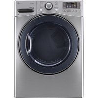 LG DLGX3571V Gas 7.4 Cu. Ft. Graphite Front Load Steam Dryer - DLGX3571V - IN STOCK