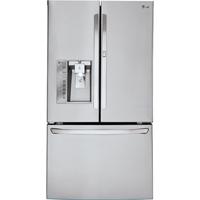 LG LFXS30766S 29.6 Cu. Ft. Stainless French Door-in-Door Refrigerator - LFXS30766S - IN STOCK