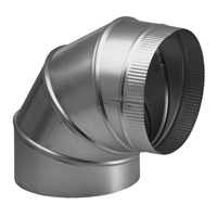 Broan 10 in. Round Elbow Duct for Range Hoods and Bath Ventilation Fans - 418 - IN STOCK