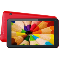 Supersonic 7 in. 4GB Android 4.2 Red Tablet - SC2207RED - IN STOCK