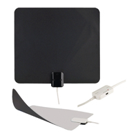 RCA Ultra-Thin, Omni-Directional, Indoor Amplified HDTV Antenna - ANT1150F - IN STOCK