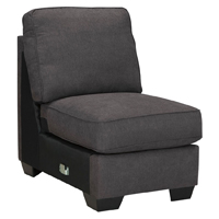 Ashley Signature Design 1660146 Alenya Charcoal Vintage Casual Armless Chair - 1660146 / 1660146 - IN STOCK