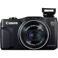 Canon PowerShot SX700 16.1MP 30x Zoom Black Digital Camera - 9338B001 / SX700BK - IN STOCK