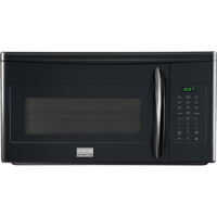 Frigidaire Gallery FGMV175QB 1.7 Cu. Ft. 1000W Black Over-the-Range Microwave Oven - FGMV175QB - IN STOCK