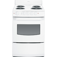Hotpoint RA824DDWW 3.0 Cu. Ft. White Freestanding Coil Range - RA824DDWW - IN STOCK
