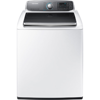 Samsung WA56H9000AW 5.6 Cu. Ft. White High Efficiency Top Load Washer - WA56H9000AW - IN STOCK