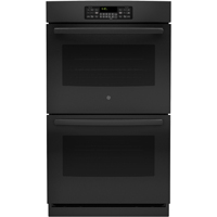 G.E. JT3500DFBB 30 in. Black Double Wall Oven - JT3500DFBB - IN STOCK