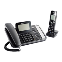Panasonic Link2Cell DECT6.0 2-Line Digital Phone - KX-TG9581B / KXTG9581 - IN STOCK