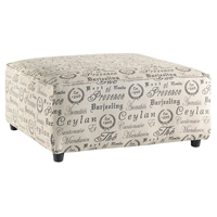 Ashley Signature Design Alenya Quartz Vintage Casual Oversized Ottoman - 1660008 - IN STOCK