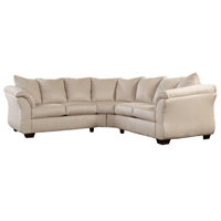 Ashley Signature Design 7500055 Darcy Stone Polyester LAF Loveseat  - 7500055 / 7500055 - IN STOCK