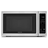 Kitchen Aid KCMS2255BSS 2.2 Cu. Ft. 1200W Stainless Steel Countertop Microwave - KCMS2255BSS - IN STOCK