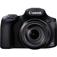 Canon PowerShot SX60 HS 16.1MP 65x Zoom Black Digital Camera - SX60 HS / SX60 - IN STOCK