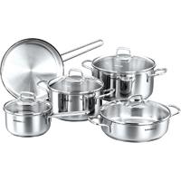 Korkmaz Perla 9pcs. Caserole Cookware Set - A1609PERLA - IN STOCK