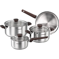 Korkmaz Kappa 7pcs. Cookware Set - A1679KAPPA - IN STOCK