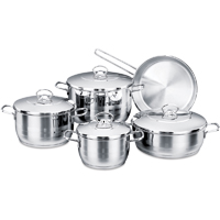Korkmaz Astra 9pcs. Cookware Set - A1900ASTRA - IN STOCK