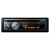 Pioneer Single DIN Bluetooth In-Dash CD/AM/FM Receiver - DEH-X8700BS / DEHX8700 - IN STOCK