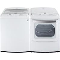 LG White High Efficiency Washer/Dryer Pair - WT1701WPR - IN STOCK