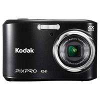 Kodak PixPro FZ41 16MP 4x Zoom Black Digital Camera - FZ41-BK / FZ41BK - IN STOCK