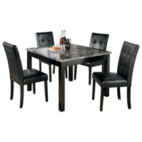 Ashley Signature Design Maysville Series Black Table & Chair Set - D154-225 / D154STANDARD - IN STOCK