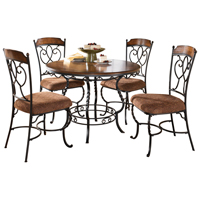 Ashley Signature Design Nola Series Table & Chair Set - D316-225 / D316STANDARD - IN STOCK