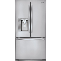 LG LFXC24726S 24 Cu. Ft. Stainless Counter-Depth French Door Refrigerator - LFXC24726S - IN STOCK