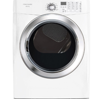 Frigidaire Affinity FASG7074NW Gas 7.0 Cu. Ft. White Front Load Steam Dryer  - FASG7074NW - IN STOCK