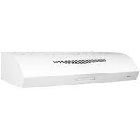 Broan 350 CFM 30 in. wide Undercabinet Range Hood in White - QP230WW - IN STOCK