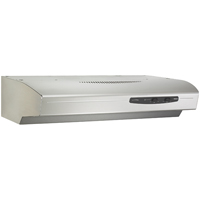Broan 30 in., Stainless, Under Cabinet Hood, 220 CFM - QS130SS - IN STOCK
