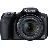 Canon PowerShot SX520 16MP 42x Zoom Black Digital Camera - SX520 - IN STOCK