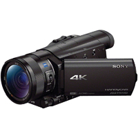 Sony 4K Camcorder with 1 in. sensor - FDR-AX100/B / FDRAX100 - IN STOCK