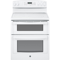 G.E. JB870TFWW 6.6 Cu. Ft. White 5 Burner Double Oven Range - JB870TFWW - IN STOCK