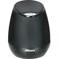 2Boom Stereo Bluetooth Speaker System - Black - BT20K - IN STOCK