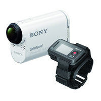 Sony POV Action Video Camera with Live View Remote (White) - HDR-AS100VR / HDRAS100VR - IN STOCK