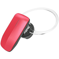 QuikCell Color Burst Mini Bluetooth Headset - Red - CBT245RED - IN STOCK