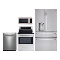 LG 4 Pc. Stainless French Door Kitchen Package - LG30DNDSKIT - IN STOCK