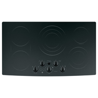 G.E. Profile PP962BMBB 36 in. Black 5 Burner Electric Cooktop - PP962BMBB - IN STOCK