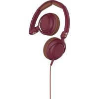 Skull Candy Lowrider On-Ear Headphone (Maroon, Brown, and Copper) - S5LWGY414 - IN STOCK