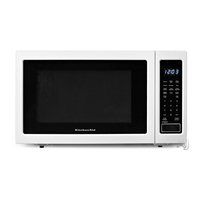 Kitchen Aid KCMS1655BWH 1.6 Cu. Ft. White 1200W Countertop Microwave Oven - KCMS1655BWH - IN STOCK